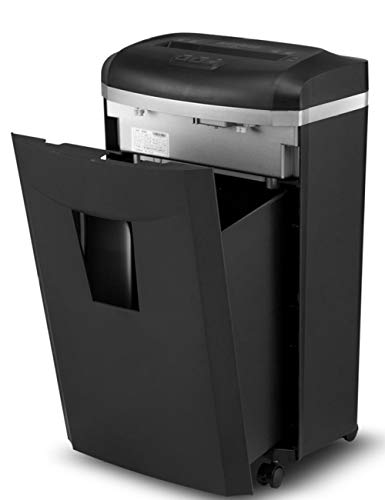 Shredders Home Use,Card Cutter,Sheet Manual Cross Cut Shredder for Home or Small Office Use, 25 Litre Bin Electric Shredder Strip Cut Shredding Card Document Large
