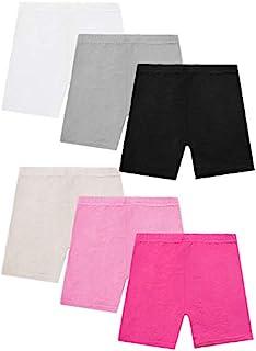 Resinta 6 Pack Dance Shorts Girls Bike Short Breathable...