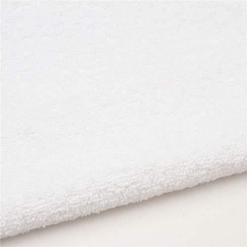 Thalasso tela de rizo blanco liso de Stof France