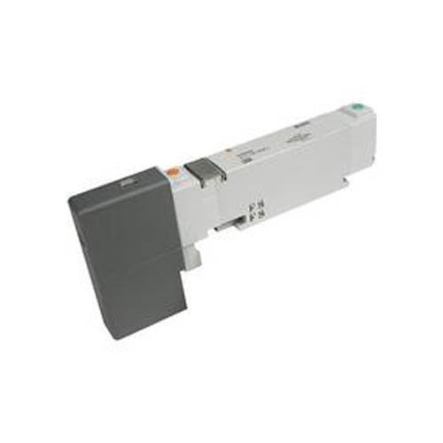 SMC VQC1101N-51 2 Position, Spring Base, Solenoid Valve, VQC Series, 0.15-0.7MPA, Pneumatic, 5 Ports