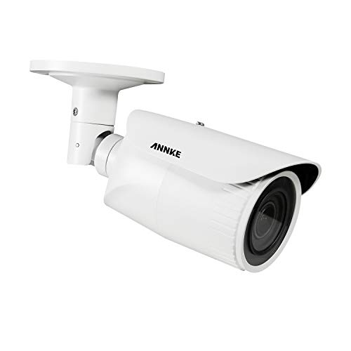 ANNKE C500 5MP POE CCTV Camera with 4X Optical Zoom Auto Focus, IP Bullet Security Camera, Built-in Micro SD Card Slot UP to 128G,100ft Night Vision,H.265+ IP67 Weatherproof for Outdoor/Indoor