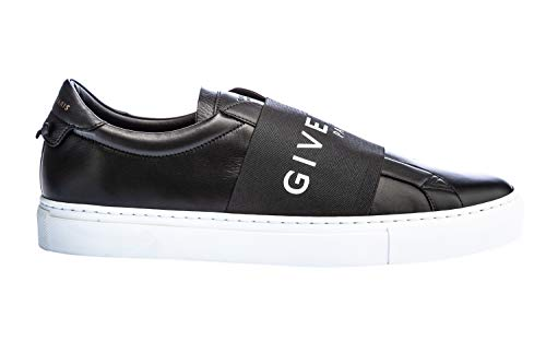 Givenchy Elastic Logo Strap Trainer in Black