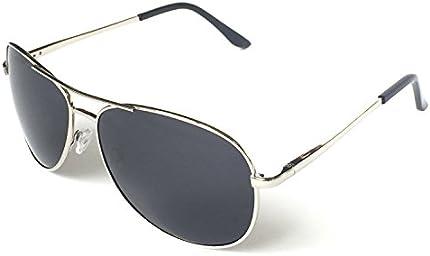 Anteojos de sol de calidad de estilo militar aviador clásico, polarizados, 100% de protección UV J+S, L