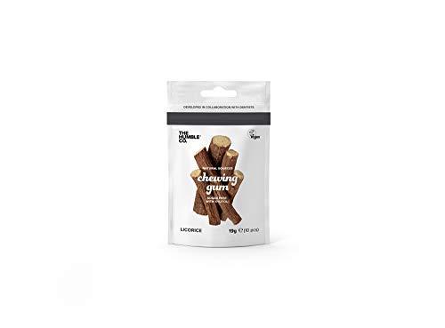 The Humble Co. Natürliches Kaugummi | Lakritze | Plastikfrei, Biologisch Abbaubar, Umweltfreundlich, Vegan, Zuckerfrei, von Zahnärzten empfohlen, 100% Xylitol (1 Packung)