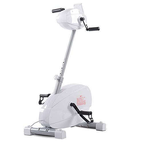 yunyu Pedal Exerciser Mini Bike Collapsible Arm And Pedal Exercisers, LCD-Display, Adjustable Resistance, Compact, Pedals with Scoops, Exercise Equipment for Home And Office