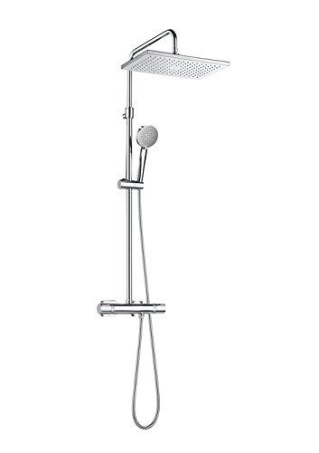 Roca Roca Even A5A2080C00 - Columna de ducha termostática . Griferias hidrosanitarias...