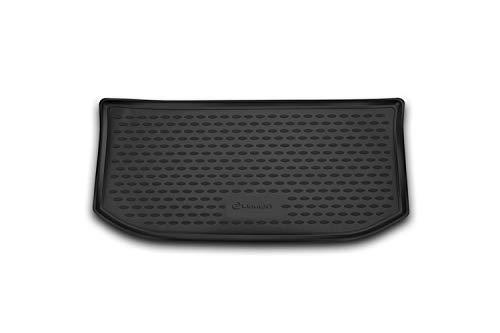 Element EXP.NLC.51.43.V11 Passgenaue Premium Antirutsch Gummi Laderaumwanne Kofferraumwanne für VW Up - Jahr: 12-20, Schwarz, Passform