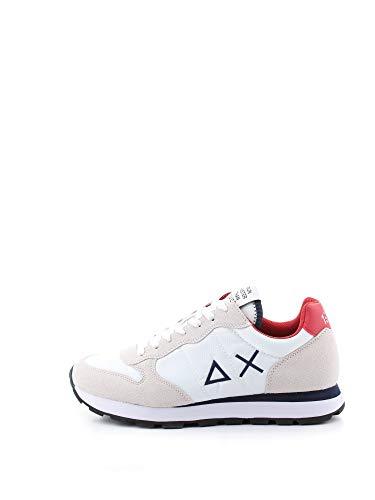 Sneaker Uomo SUN68 cod.BZ30101 WHITE - RED SIZE:42