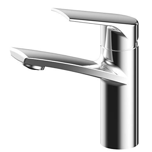 AWA - Sydney - RED DOT - v2 - GriferÌa Mezclador Grifo lavabo baño - Cromado