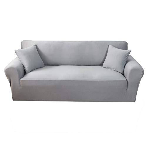 CENPENYA Sofabezug mit hohem Stretch, super weich, stylisch, für Hunde, Haustiere, Katzen, Spandex, rutschfest, für Wohnzimmer-Möbelschutz (D,3-Sitzer)