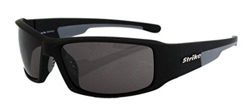 Strike Sonnenbrille 174 schwarz Sportbrille Radbrille