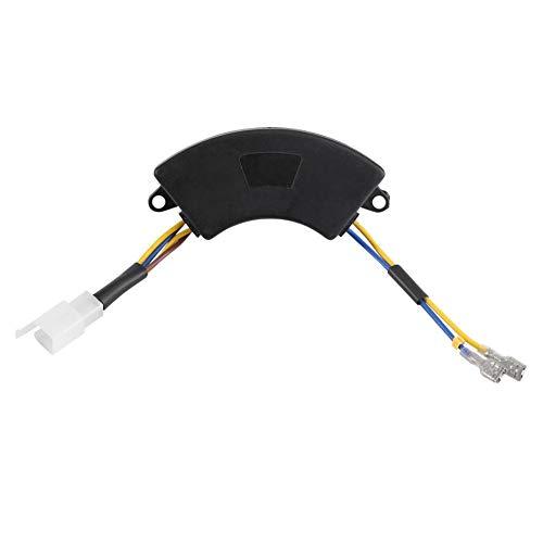 220μF 250V Regulador de voltaje automático en forma de arco AVR Generador de arranque eléctrico Regulador de voltaje para generador eléctrico de gasolina 2KW-3KW 168F
