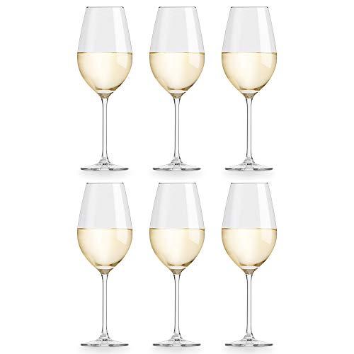 Libbey Copa de Vino Atna - 40 cl / 400 ml - 6 Unidades - Diseño Clásico - Apta Para...