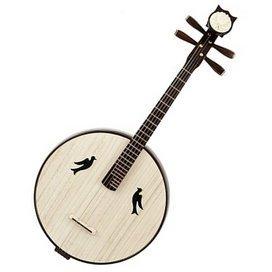 Hohe Qualität Da Ruan Instrument Chinese Mandoline Ruan mit acceesories