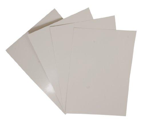 Pavo Einbanddeckel-Chromolux DIN A4, 250 g/m², 100-er Pack, weiß