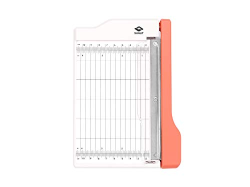 Bira Craft Guillotine Paper Trimmer, Guillotine Paper Cutter, 6 inch Cut Length, for Coupons, Paper Crafts and Photos