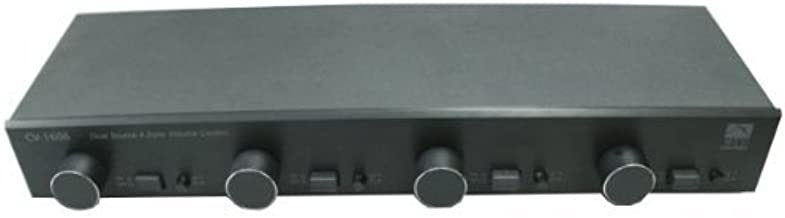 4 Zone Speaker Selector with Individual Volume Control by AVX Audio