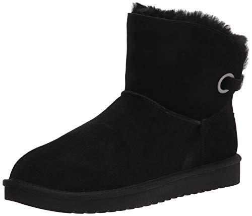 Koolaburra by UGG Women's Remley Mini Classic Boot, Black, 37 EU