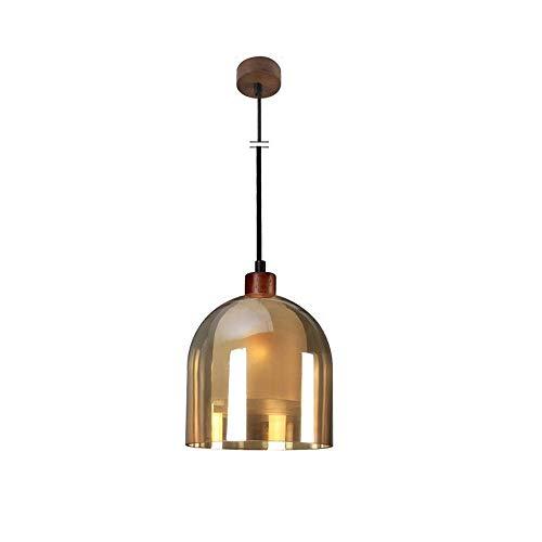 Personalidad de la manera de una sola cabeza de suspensión LED luz moderna simplicidad Study Bar Cafe colgantes titular de la línea pescado iluminación de la lámpara E14 exquisito y elegante lámpara d
