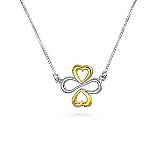 Ayllu Amulet Talisman Inspirational Intertwine Symbol Heart Infinity Clover For Love Luck...