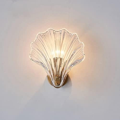 Nordic Ins - Lámpara de pared (latón y cristal), diseño minimalista