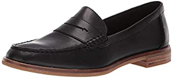 Sperry Womens Seaport Penny Nubuck Loafer Black 9