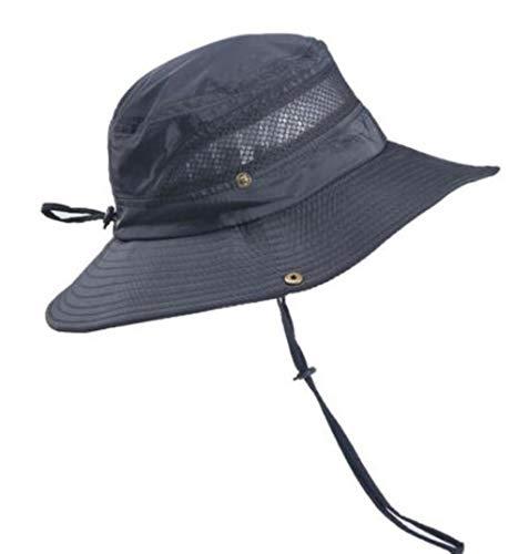 Sombreros De Sol Transpirables De ala Ancha for Hombres Y Mujeres, Ocio Colapso Gorro De Pesca Protector Solar Parasol Temporada De Verano Enfriarse Gorra De Trekking