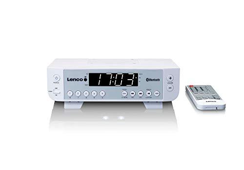 Lenco KCR-100 weiß  Lenco KCR-100 weiß Küchenradio mit Bluetooth weiß