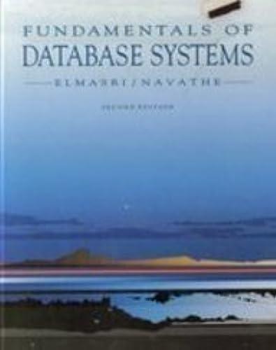 Books By Ramez Elmasri Shamkant B Navathe_fundamentals Of Database ...