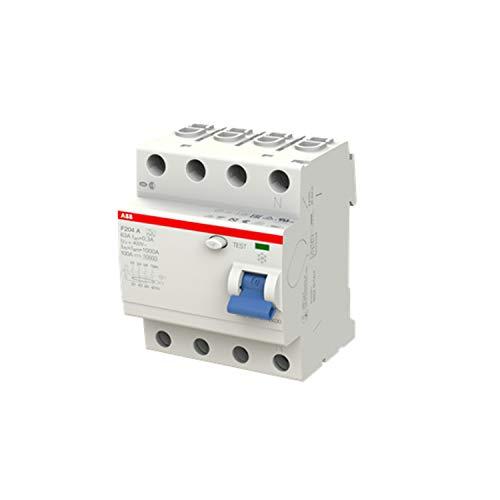 ABB F204A-63/0,3 4-Polig FI-Schutzschalter, 230V, 63A