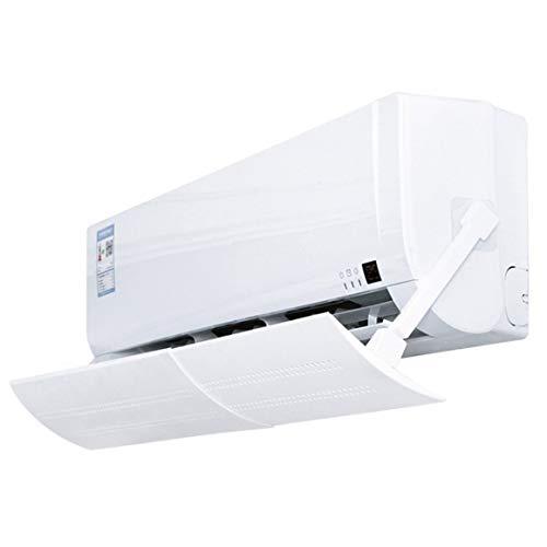 KoelrMsd Aire Acondicionado Parabrisas Mes Niño Infantil Golpe Directo Campana de Aire Salida de Aire Deflector Parabrisas Colgar Aire Acondicionado Deflector