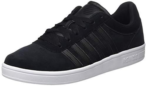 K-Swiss Herren Court CHESWICK SPSDE Sneaker, Schwarz (Black/Black/White 044), 42 EU