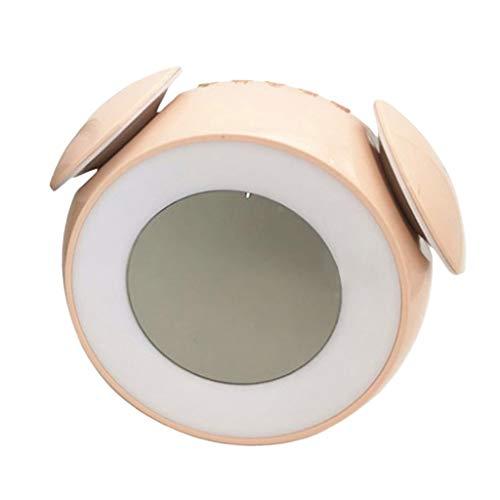 FLAMEER Lichtwecker Tageslichtwecker Wake Up Light Kinderwecker Digitaluhr Nachttischlampe Wecker für Kinderzimmer Schlafzimmer - Rosa