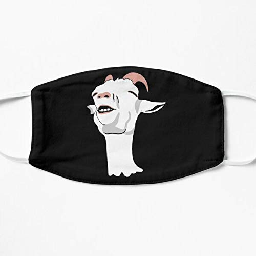 Relieved Goat Meme Mask Cloth Face Covering