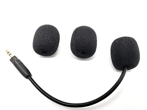 Ersatz-Spielmikrofon TNE 2,5 mm für Turtle Beach Ear Force PX4 PX5 PX51 XP300 XP400 XP500 XP510 X4 X41 X42 500X Xbox 360 PS3 Nintendo Computer PC Gaming Headsets
