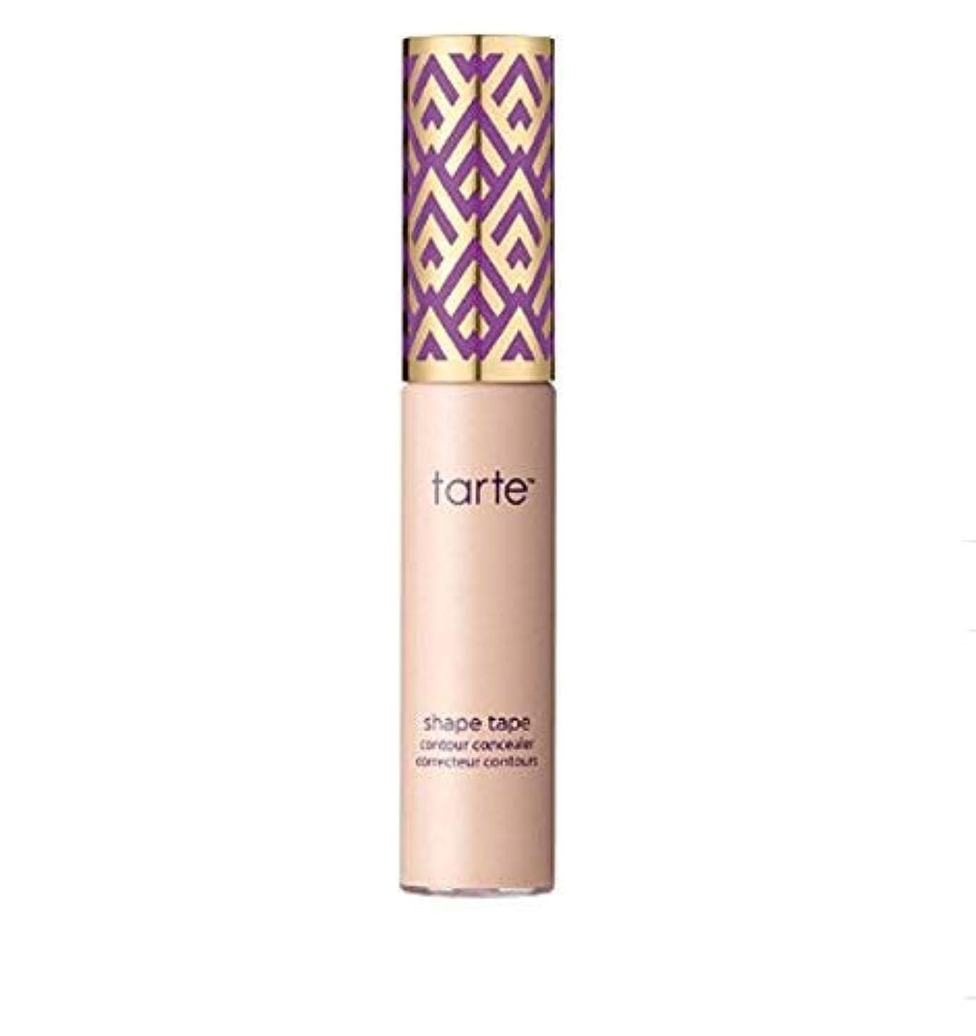 ライトニング鋼不健全TARTE Double Duty Beauty Shape Tape Contour Concealer - Light (light skin w/ pink undertones)