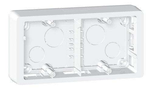 Legrand Celiane LEG80245 ram för montering på väggen, 2 platser, titan