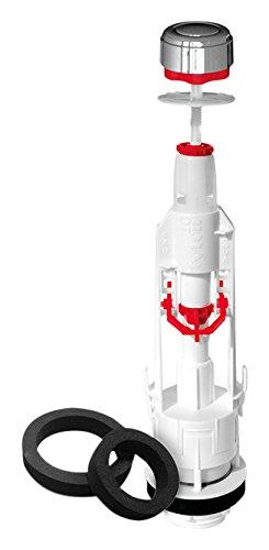Fominaya 129306011 Descargador Tyfon5 3G universal con pulsador + conjunto base y juntas, Negro, Estandar