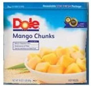 Dole Individual Quick Frozen Mango Cube, 5 Pound -- 2 per case.