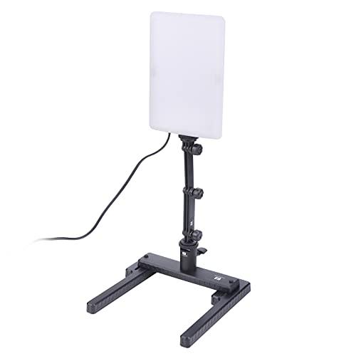 Hersmay 96 LED Studioleuchte Videoleuchte Studio licht Video Lampe 5600K Mit Verstellbare Arm & Haltewinkel-Stand Kit für Digitalkameras YouTube Live Streaming Lighting