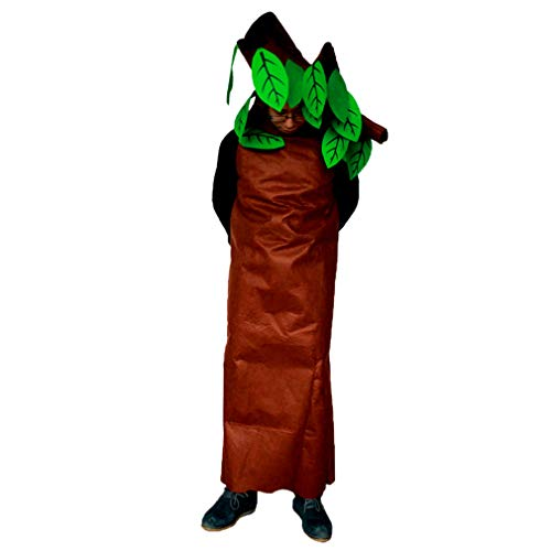 zhbotaolang Unisex Niño Arbol de Halloween Disfraces Fiesta Adulta Vestido de Lujo (160-180CM)