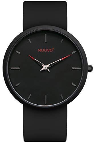 メンズ腕時計 ブラック クォーツ 防水 ウォッチ アウトドア スポーツ 時計 メンズ シリコン