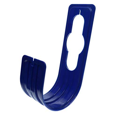 Inzopo - Soporte flexible para manguera de jardín de 25 pies, 50 pies, 75 pies, 100 pies, color azul real, 8 x 25 cm