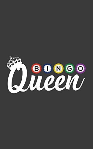 Bingo Queen: Bingo Queen Notebook - Women Lotto Lottery Womens Player Fan Doodle Diary Book As Gift For Woman Or Girl Loteria Champion Of Mexican Card Game Though It Takes a Lot of Balls to Win