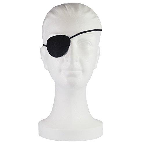 NOBAMED Augenklappe Schwarz