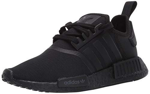 adidas Originals mens Nmd_r1 Sneaker, Black/Black/Black, 9 US