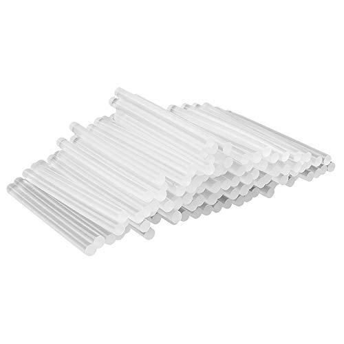 Universal Heißklebepatronen | Heißklebesticks für kleine Heißklebepistolen | Heißkleber Sticks | Ø 7 mm | 10 cm lang | 100 Stück (klar transparent)