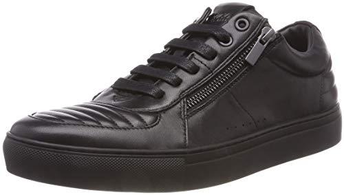 HUGO Herren Futurism_Tenn_mtzp1 Sneaker, Schwarz (Black 001), 40 EU