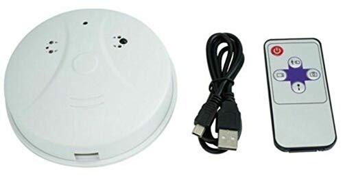 Greetuny Hochauflösender, Ferngesteuerter Videoüberwachungskamera-Rauchmelder mit hoher Auflösung
