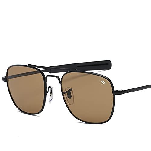 SLAKF Gafas de Sol Lentes de Vidrio óptico para Gafas de Sol para Hombre. (Lenses Color : 8054 C6)